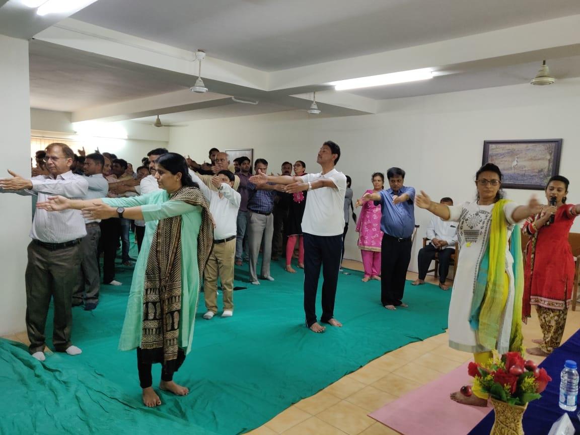 Jamnagar yoga day