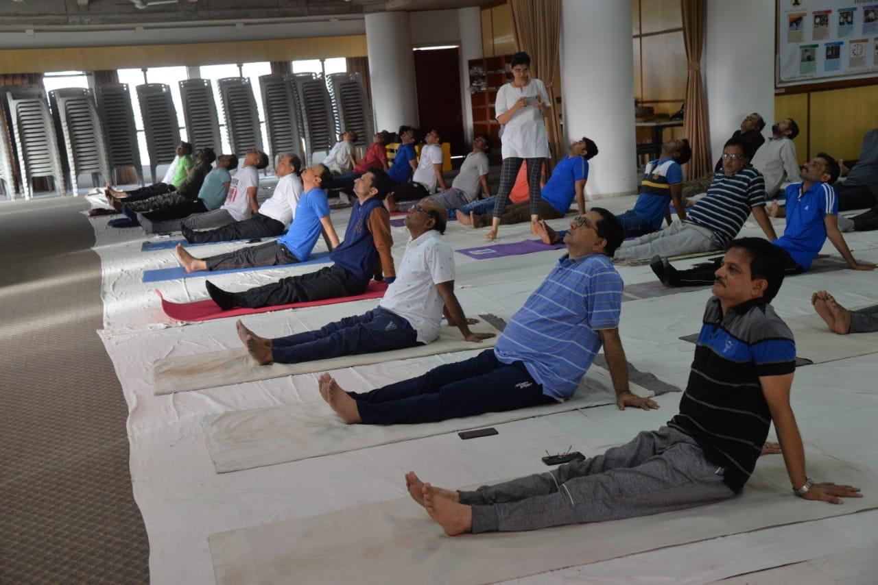 Rajkot yoga day