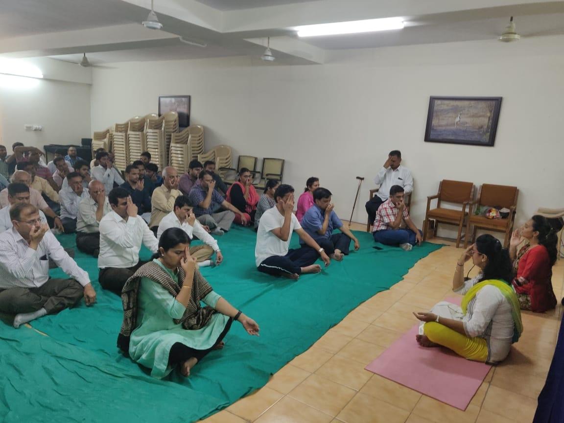 Jamnagar yoga day2