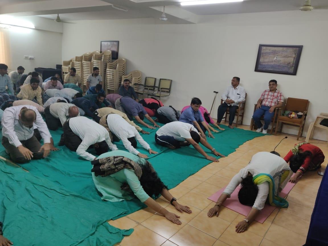 Jamnagar yoga day5