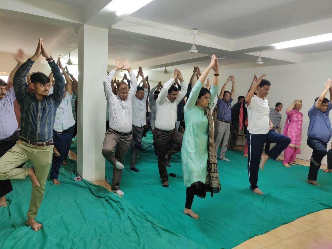 Jamnagar yoga day6