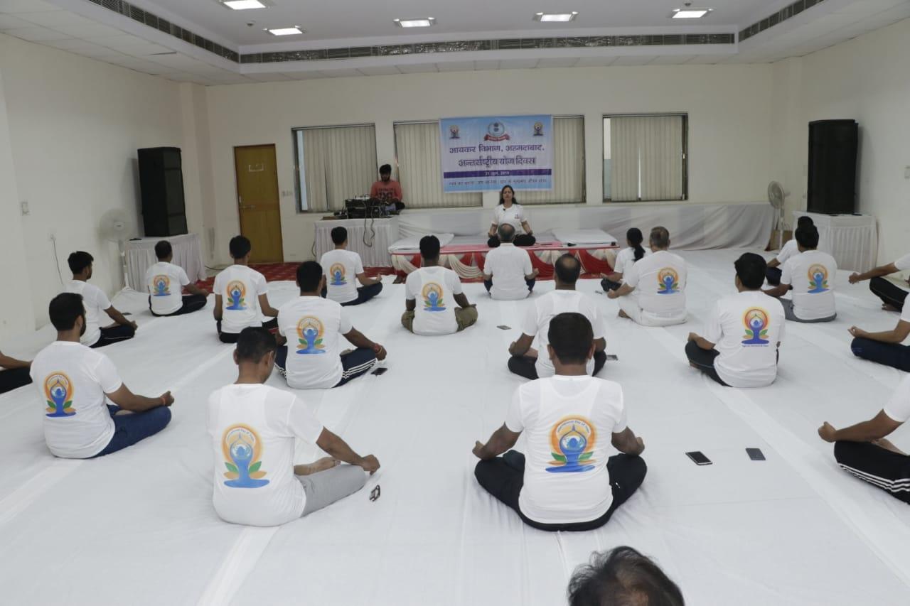 Pratyaksh kar bhawan- yoga day4