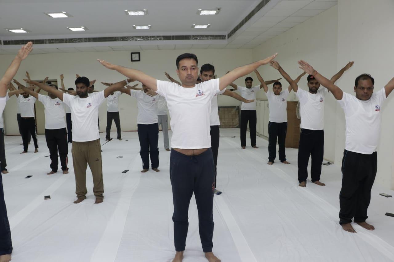 Pratyaksh kar bhawan- yoga day8
