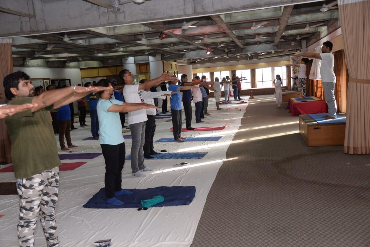 Rajkot yoga day3